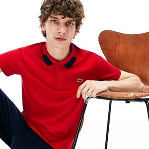 Mens Regular Fit Stretch Polo Shirt [라코스테 반팔,폴로티] Red-240 (Selected colour) (PH4230-51)