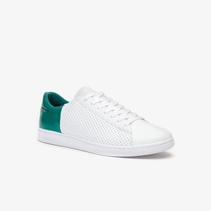 Mens Carnaby Sneakers [라코스테 운동화] WHT/GREEN-082 (Selected colour) (38SMA0063)